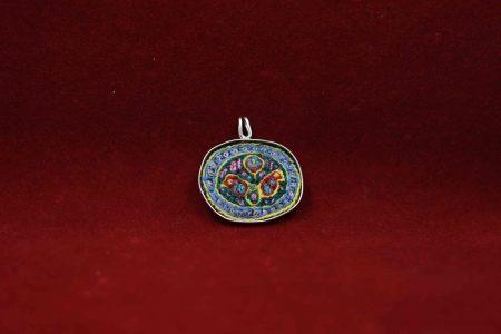 مدال نقره با پته M1010