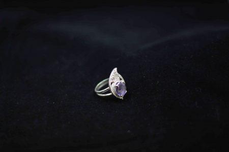 انگشتر ترمه طرح جواهر آماتیس R1001