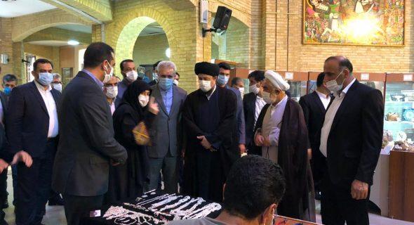 بازدید جناب آقای حسن خمینی